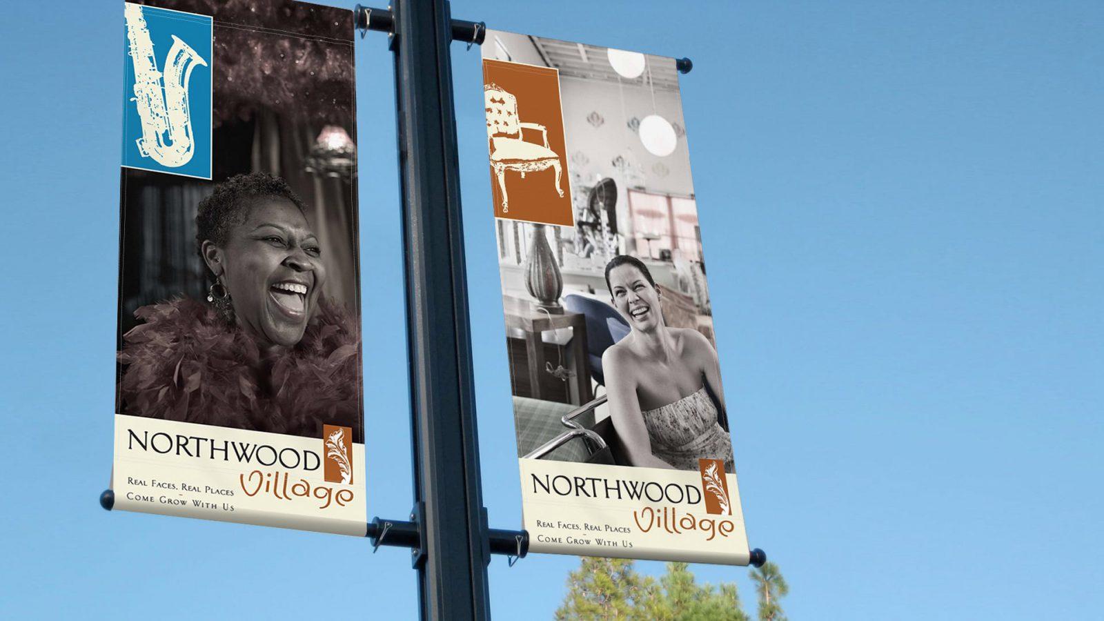 Northwood Village_Light Pole Mockup