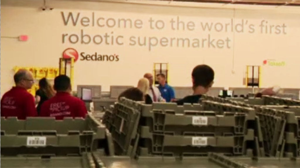 'Robotic Supermarket' Now In Operation At 15 Sedano's In Miami-Dade