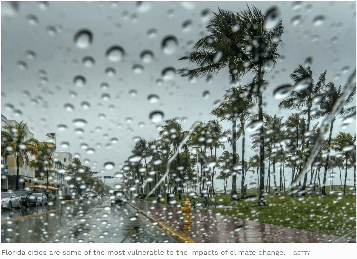 Florida Cities Launch Contest To Find Urgent Climate Change Solutions