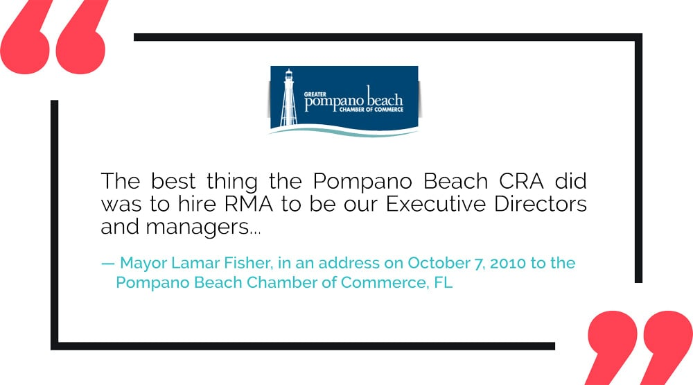 RMA Testimonial: City of Pompano Beach