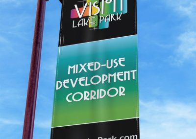 Lake Park_Single Light Pole Banner-min