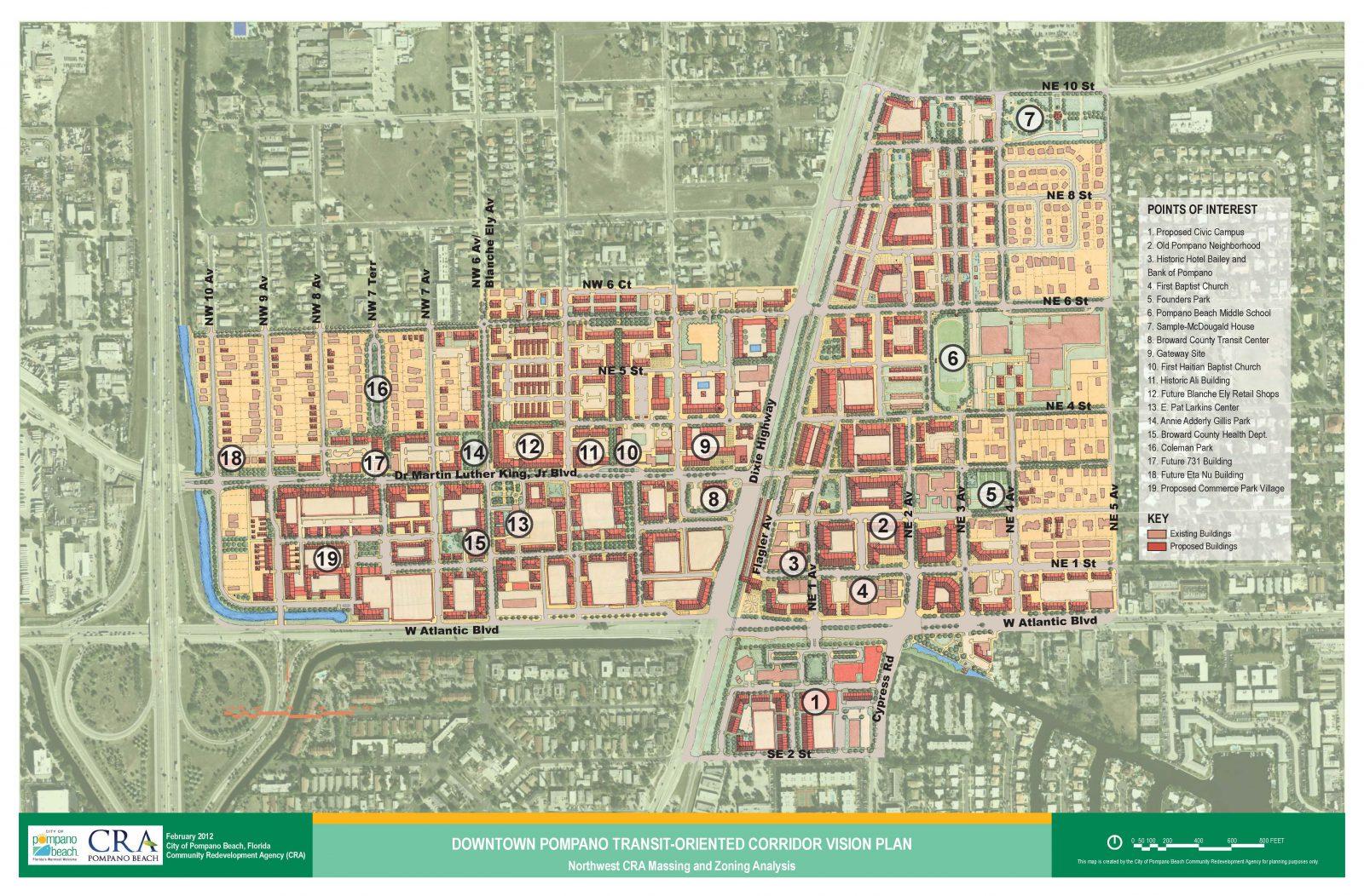 Pompano Beach Master Plan, Land Use Amendment & Zoning Regulations