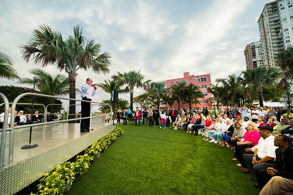 Pompano Beach Grand Re-Opening Event