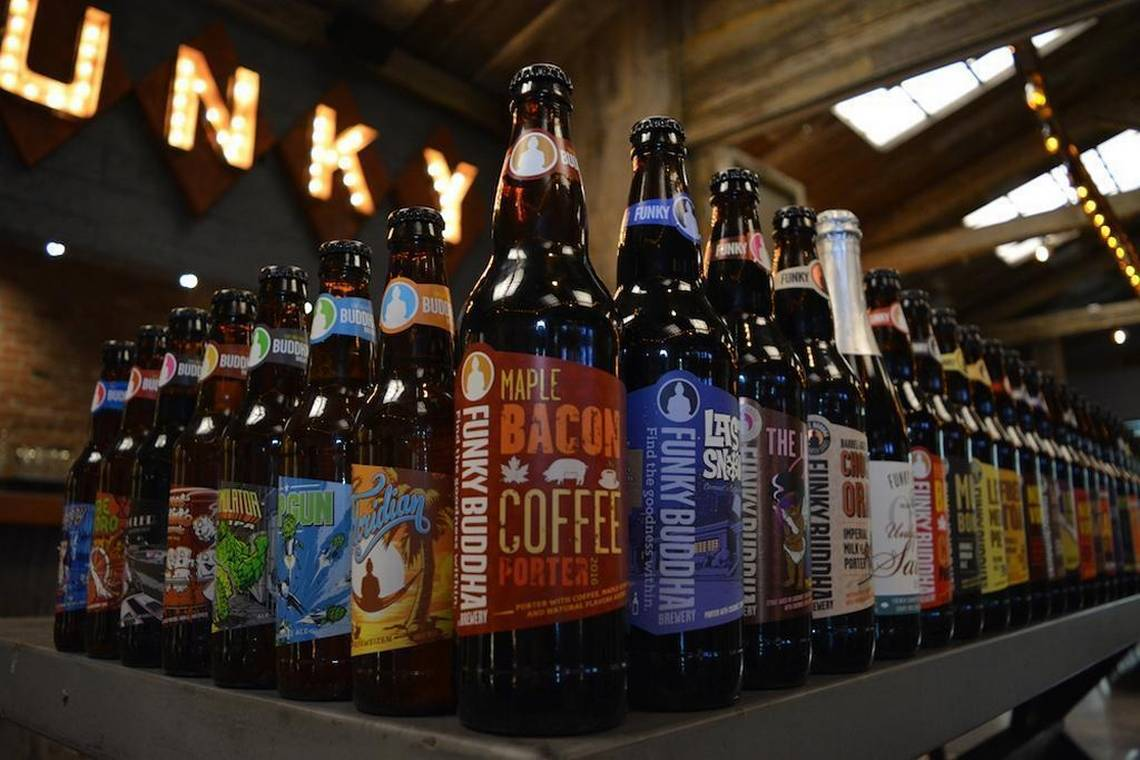 A beer giant buys the Funky Buddha Brewery and all its wild flavors