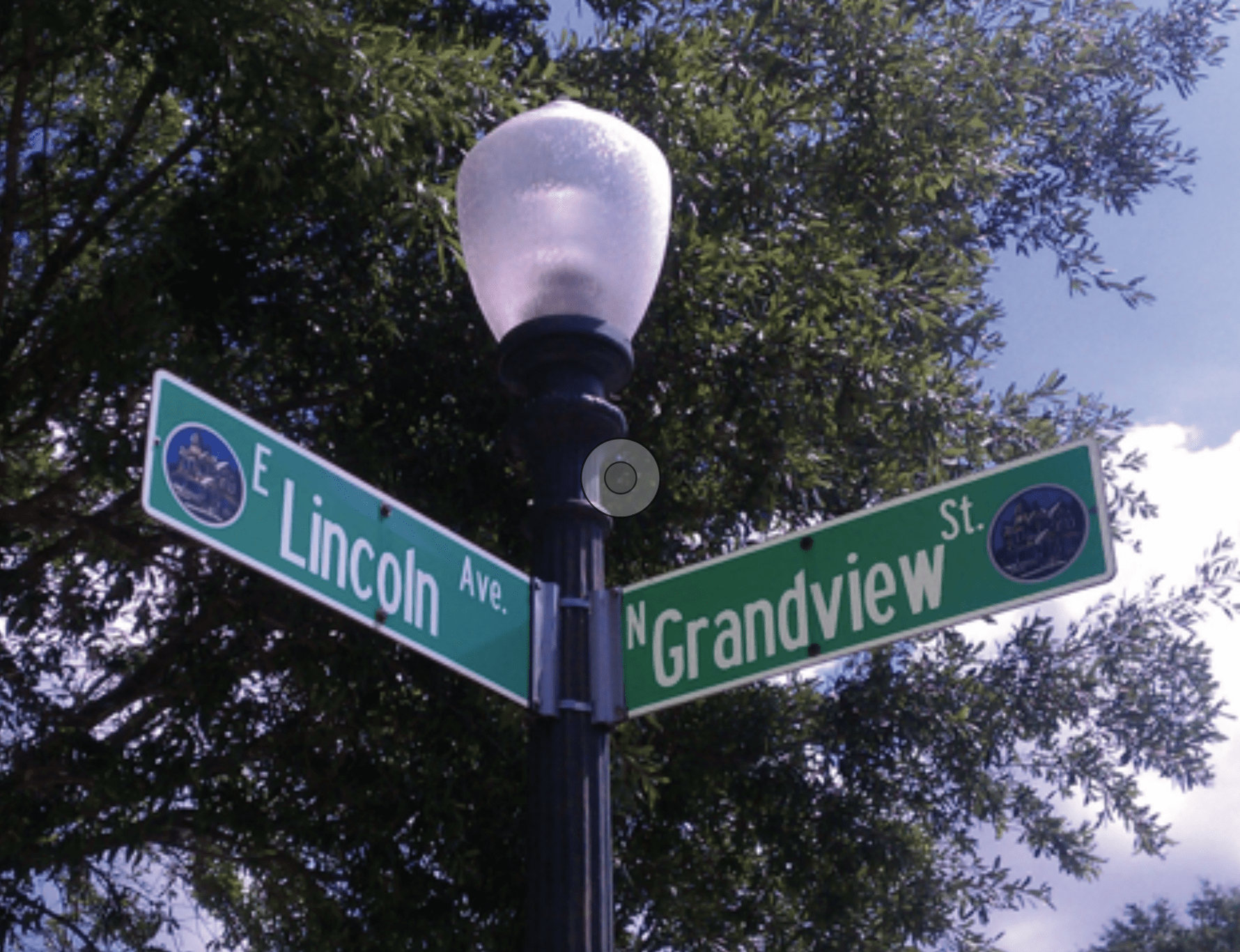 Mount Dora_Grandview Sign