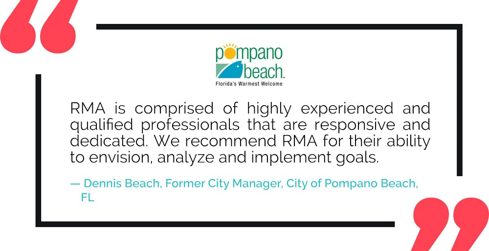 RMA Testimonial: City of Pompano Beach, FL